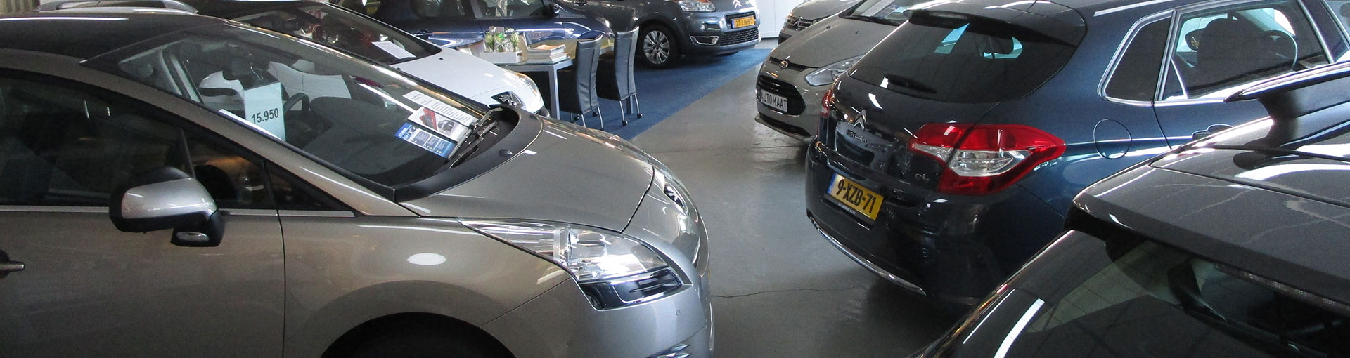 Auto Louwes nieuwe en gebruikte auto's - Showroom